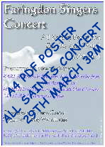 Poster Lent 2009 All Saints Thumbnail